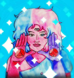 Cotton Candy Garnet - Finish by RaditzDaughter