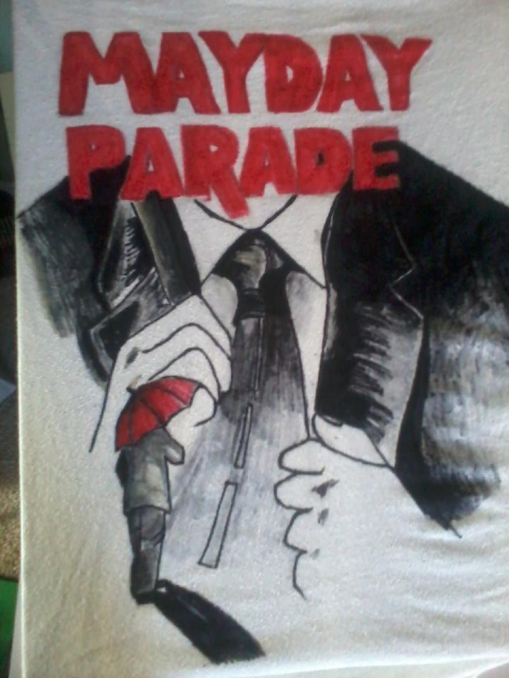 Mayday Parade Shirt i madee by dogsfourteen on deviantART