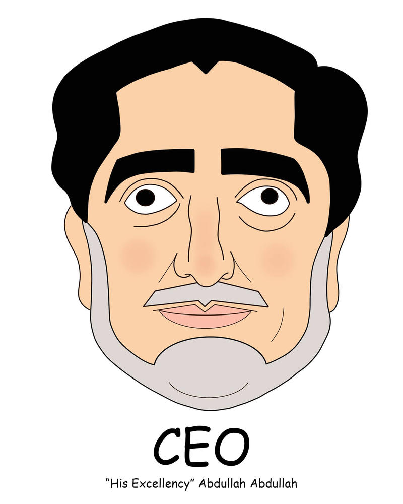 CEO of Afghanistan by shinytank