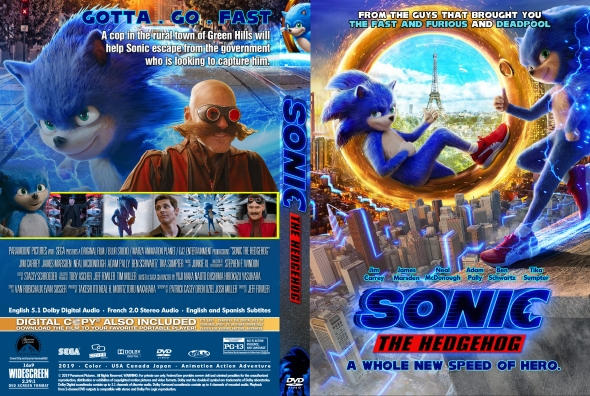 Sonic The Hedgehog Dvd Cover By Mamad092 On Deviantart