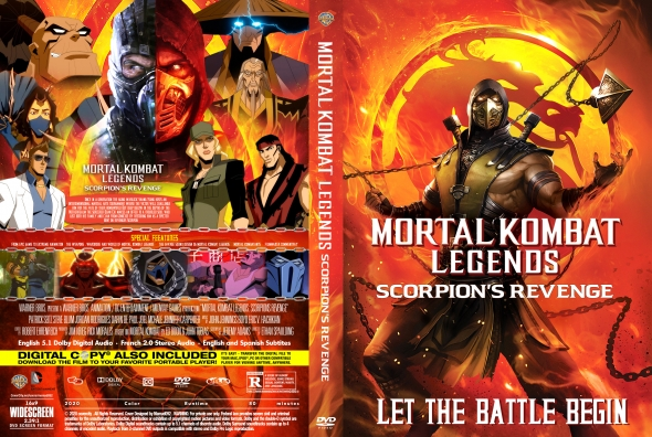 Mortal Kombat Legends Scorpion S Revenge Dvd Cove By Mamad092 On Deviantart