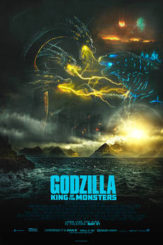 Godzilla: King of the Monsters Alternative Poster