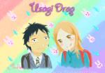 Usagi Drop: Kouki Nitani and Rin Kage v2 by xDestinyStarzx