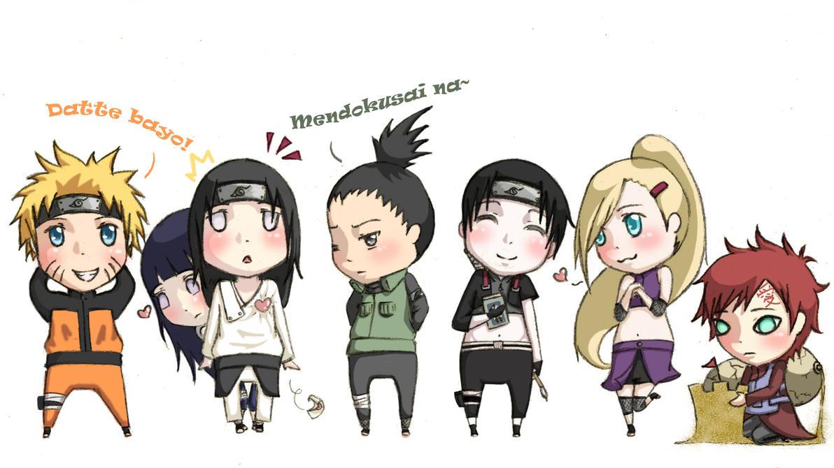 My Fav Naruto Characters01 ver02 by xDestinyStarzx