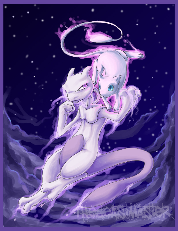 [Resim: Mewtwo_and_Mew_by_TheBeastMaster.jpg]