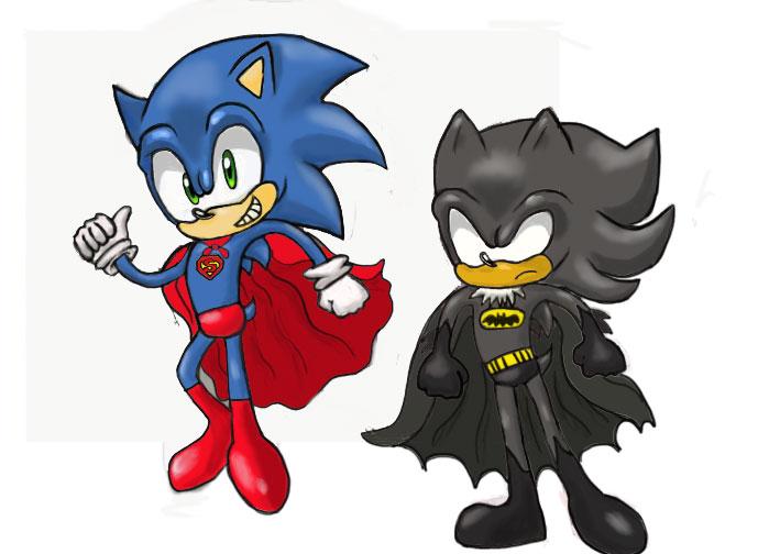 Superhog and Bathog by Bubbi-Robot