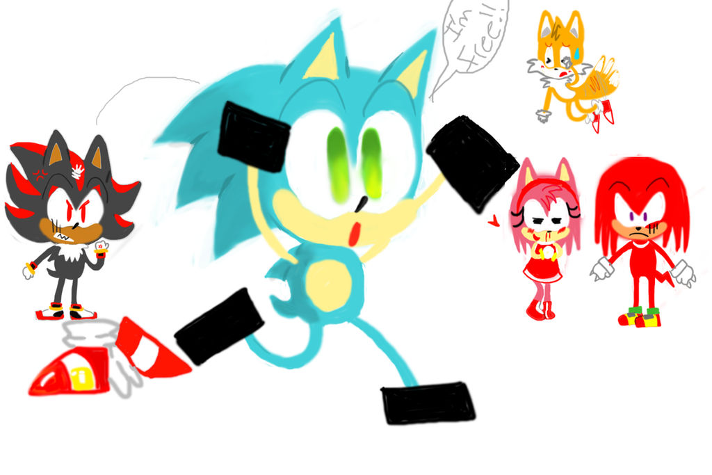 Sonic Naked