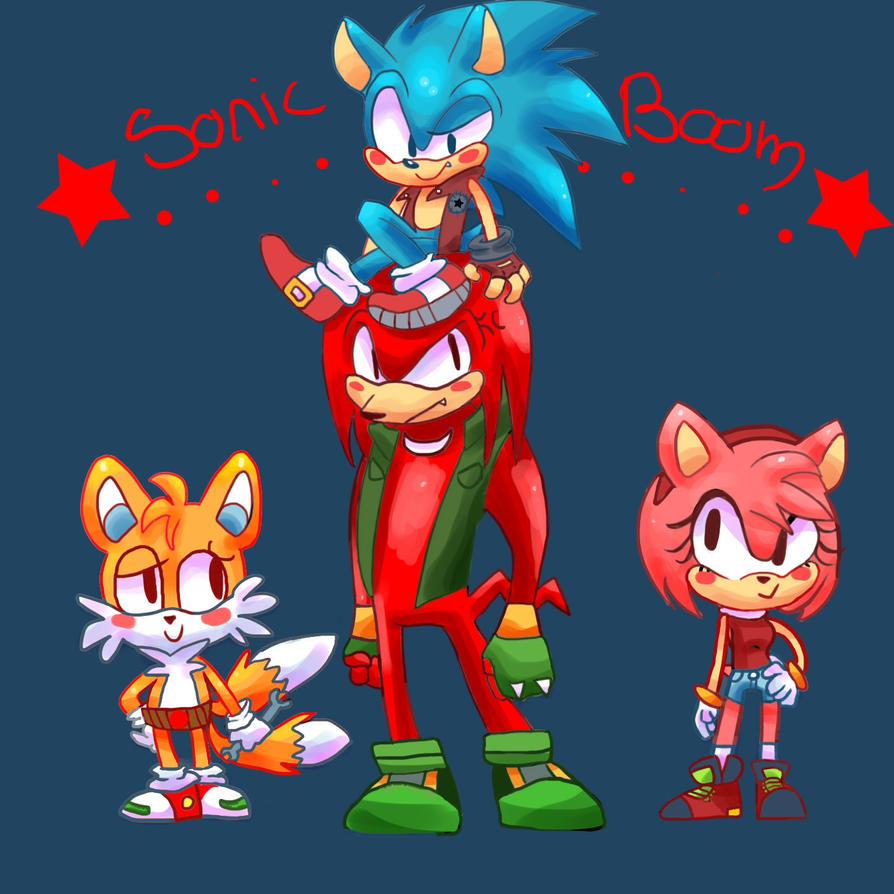 Sonic Boom by Bubbi-Robot