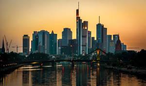 Frankfurt am Main Skyline by EmmmBeee