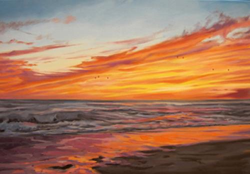 Sunset by AL1970ART