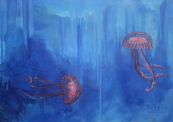 Jellyfish by AL1970ART