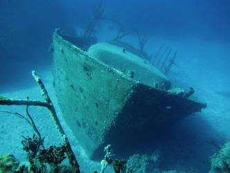boat sunk by AL1970ART