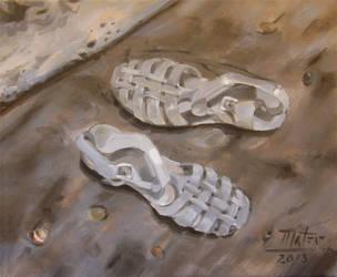 Sandals by AL1970ART