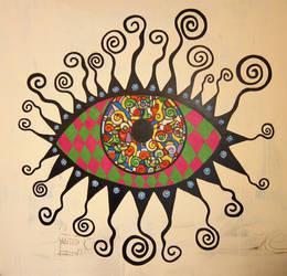 The third eye by AL1970ART
