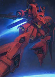Sazabi by Art--Tool