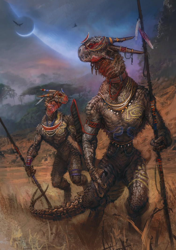 Sliventh Tribesmen by Art--Tool