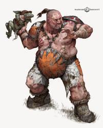 Blood Bowl Ogre Player