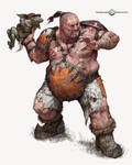 Blood Bowl Ogre Player by Art--Tool