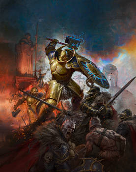 Stormcast Eternal Battle Tome Cover