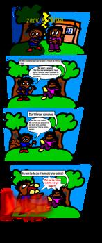 Zack and Nina comics #1:Argument
