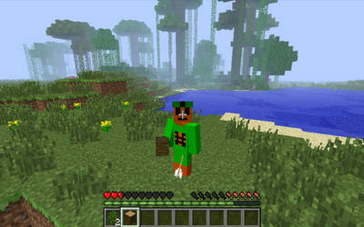 Minecraft~Arrow to the knee!