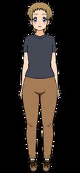 Myself as a kisekae character by Ch3C3ntaur