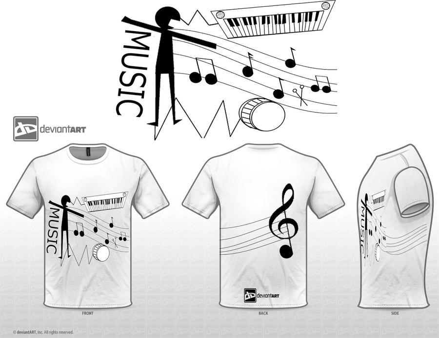 Musically inspired  1 by Revemy