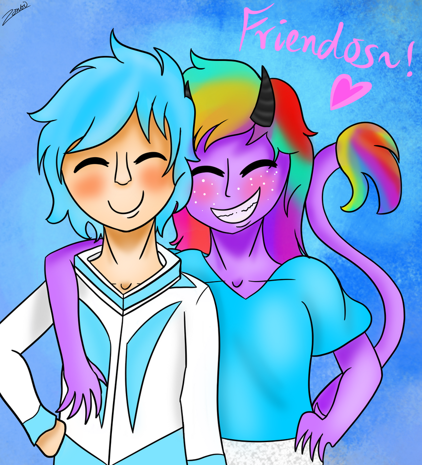 Friendos~! by Zontickles