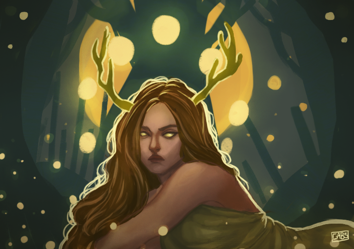 Nature Goddess by GabiRodrigues-2905