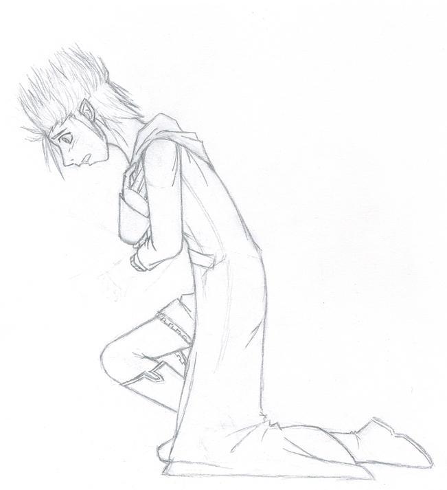 Demyx's End: Sketch by OspreySoul