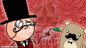 LIKE A SIR THUMB by TheCartoonLoon