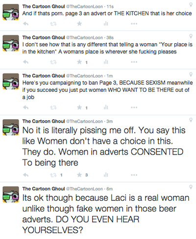 Twitter Rant About Laci Green fans/sjw/feminists by TheCartoonLoon