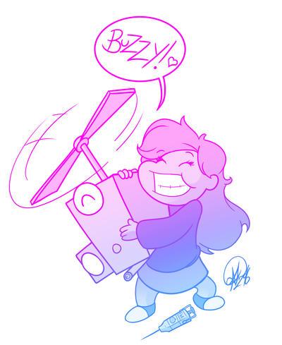 BUZZY! Bioshock by TheCartoonLoon