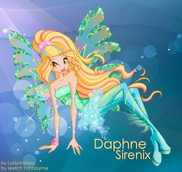 Daphne - Sirenix by LadyUraniya