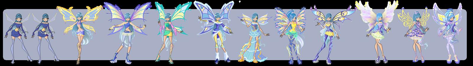 Gloria - transformation evolution by LadyUraniya