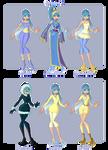 Gloria's outfits - Season 1