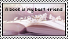 A book is my best friend stamp by Savanah25