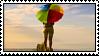Umbrella Stamp by Savanah25