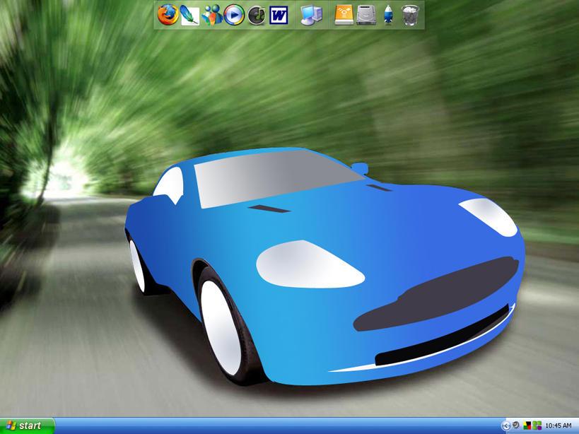 V12 Vanquish desktop by ThE-UnKO-LeMa