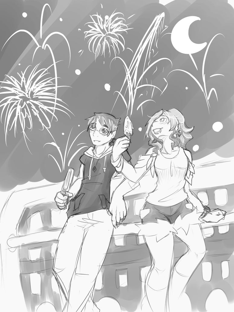 Fireworks by Ruxikah