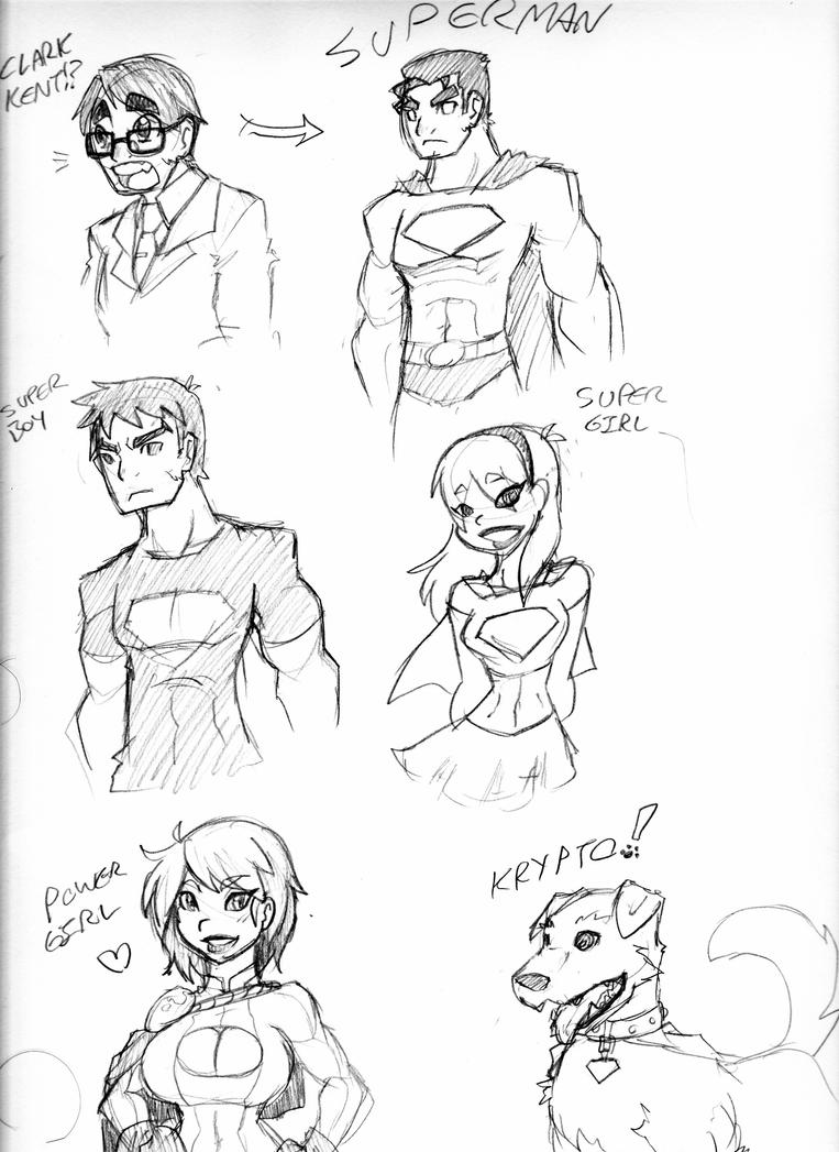 SUPER FAMILY by Ruxikah
