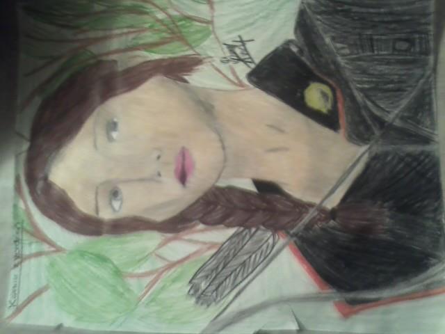 Hunger Games: Katniss Everdeen by drawingfreak100
