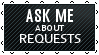 Black Lace Requests - ASK ME by iDaphodil