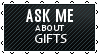 Black Lace Gifts -  ASK by iDaphodil