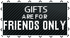 Black Lace Gifts -  FRIENDS ONLY by iDaphodil