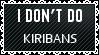 Black Lace Kiriban -  DON'T DO by iDaphodil