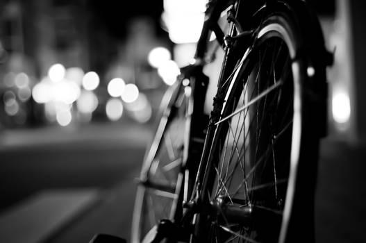 Bicycle at night
