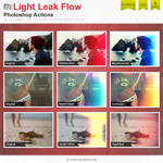 Light Leak Flow Photoshop Actions