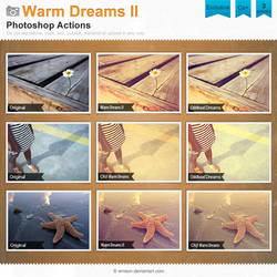Warm Dreams Photoshop Actions II