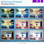 Various Dreams Photoshop Actions
